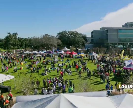 2015 Louisiana Marathon Finish Fest time lapse