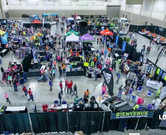 2015 Louisiana Marathon Expo time lapse