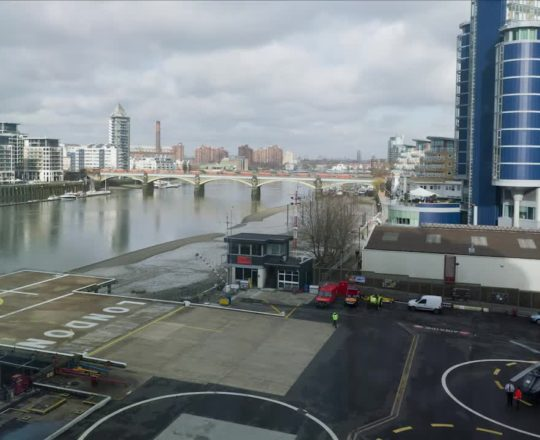 London Heliport timelapse2 Feb 2011