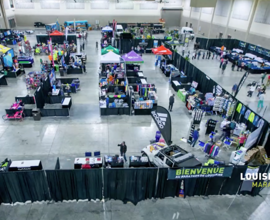2015 Louisiana Marathon Expo time lapse