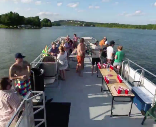 Boat Time Lapse on Lake Austin