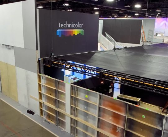 Technicolor CES 2011 Booth Construction Time Lapse